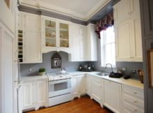 inspirational gray walls white cabinets indusperformance regarding Colors For Kitchen Walls With White Cabinets: Finding Perfect White Themes