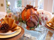 6 cutest thanksgiving table decoration ideas quotes square throughout 5 Luxury Thanksgiving Decorations for a Dining Party