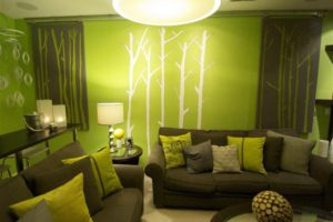 green living room decorating ideas home interior decoration in [keyword